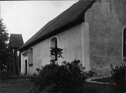 Bergshammars kyrka södra sidan